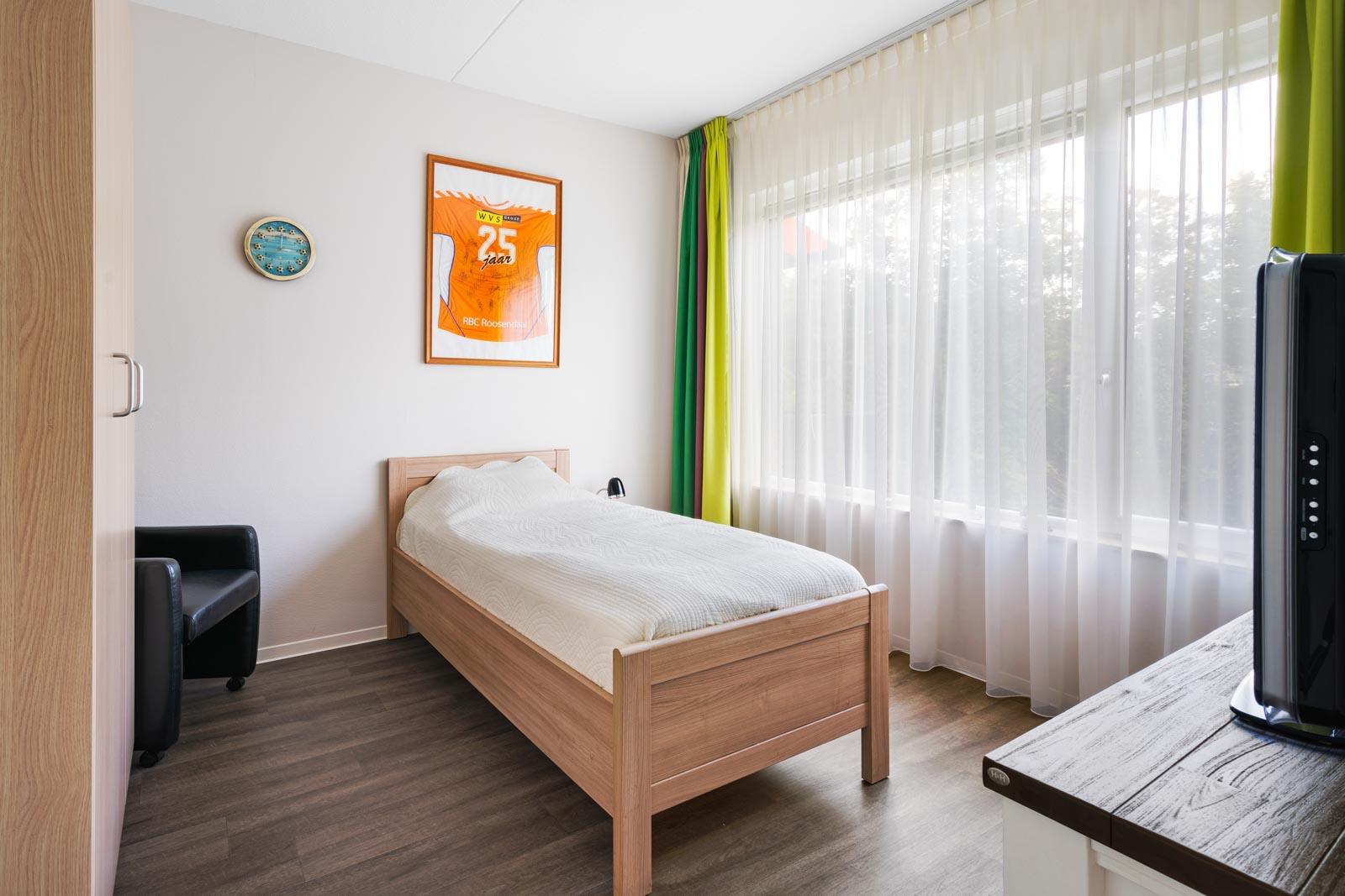 Slaapkamer van appartement bij SDW t Zand